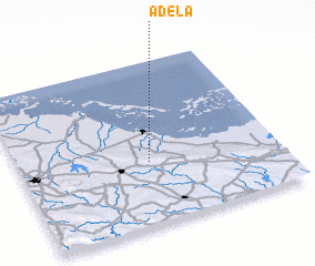 3d view of Adela
