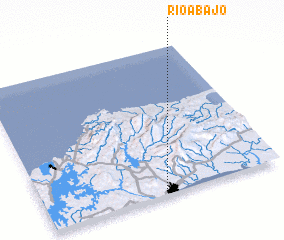 3d view of Río Abajo