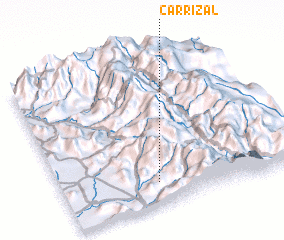 3d view of Carrizal