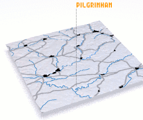3d view of Pilgrimham
