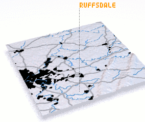 3d view of Ruffs Dale