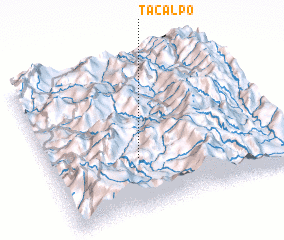 3d view of Tacalpo