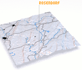 3d view of Rosendorf