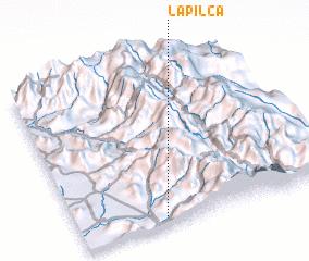 3d view of La Pilca