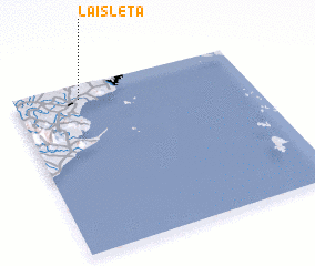 3d view of La Isleta