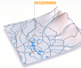 3d view of Mosquiñana