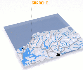3d view of Guanche