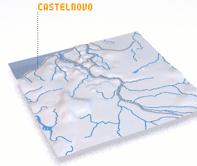 3d view of Castelnovo
