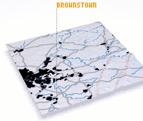 3d view of Brownstown