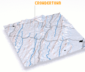 3d view of Crowdertown