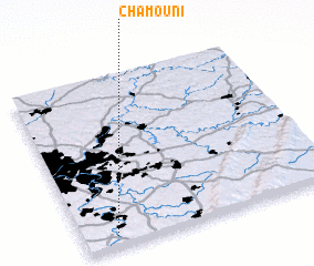 3d view of Chamouni