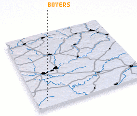 3d view of Boyers
