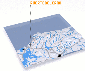 3d view of Puerto del Caño
