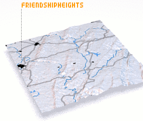 3d view of Friendship Heights