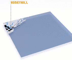 3d view of Honey Hill