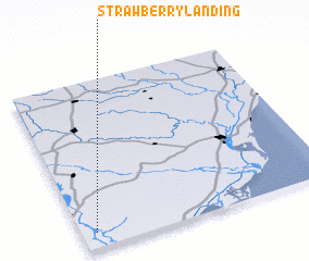 3d view of Strawberry Landing