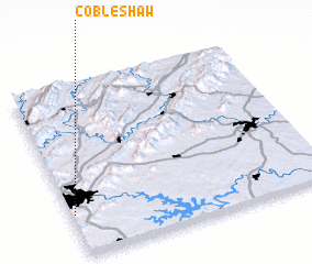 3d view of Cobleshaw
