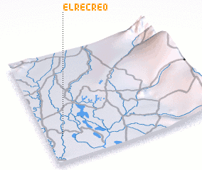 3d view of El Recreo