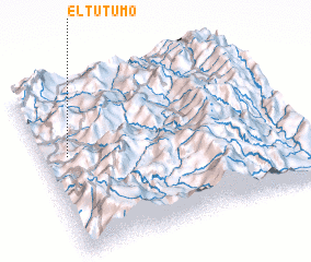 3d view of El Tutumo
