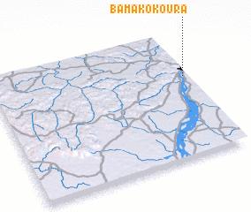 3d view of Bamako Koura