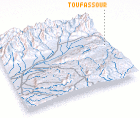 3d view of Toufassour