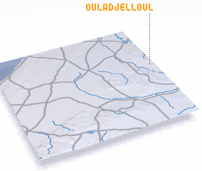 3d view of Oulad Jelloul