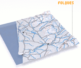 3d view of Folques