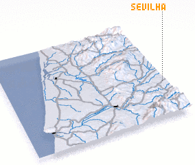 3d view of Sevilha