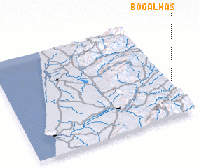 3d view of Bogalhas