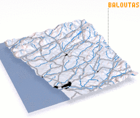 3d view of Baloutas