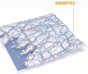 3d view of Ourantes