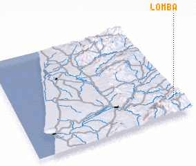 3d view of Lomba