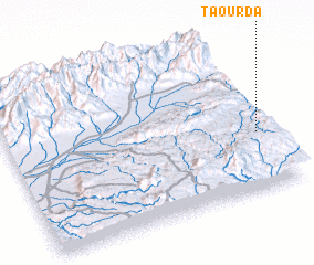 3d view of Taourda