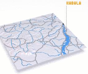 Kabala Mali map nonanet