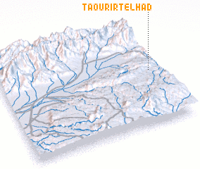 3d view of Taourirt el Had