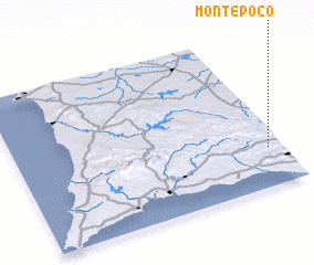 3d view of Monte Poço