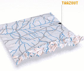 3d view of Taazout