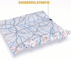 3d view of Douar Moulay Hafid