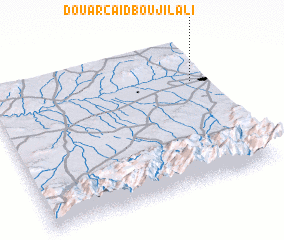3d view of Douar Caïd Bou Jilali