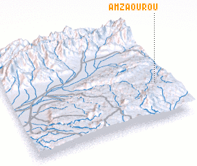3d view of Amzaourou
