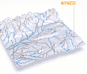 3d view of Aït 'Azzi