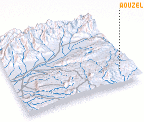 3d view of Aouzel