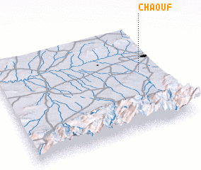 3d view of Chaouf
