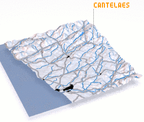 3d view of Cantelães
