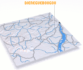 3d view of Diénéguébougou