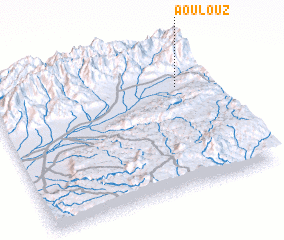 3d view of Aoulouz