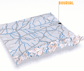 3d view of Bou Rial