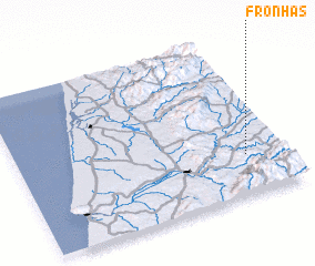 3d view of Fronhas