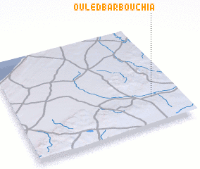 3d view of Ouled Barbouchia