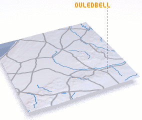 3d view of Ouled Bell